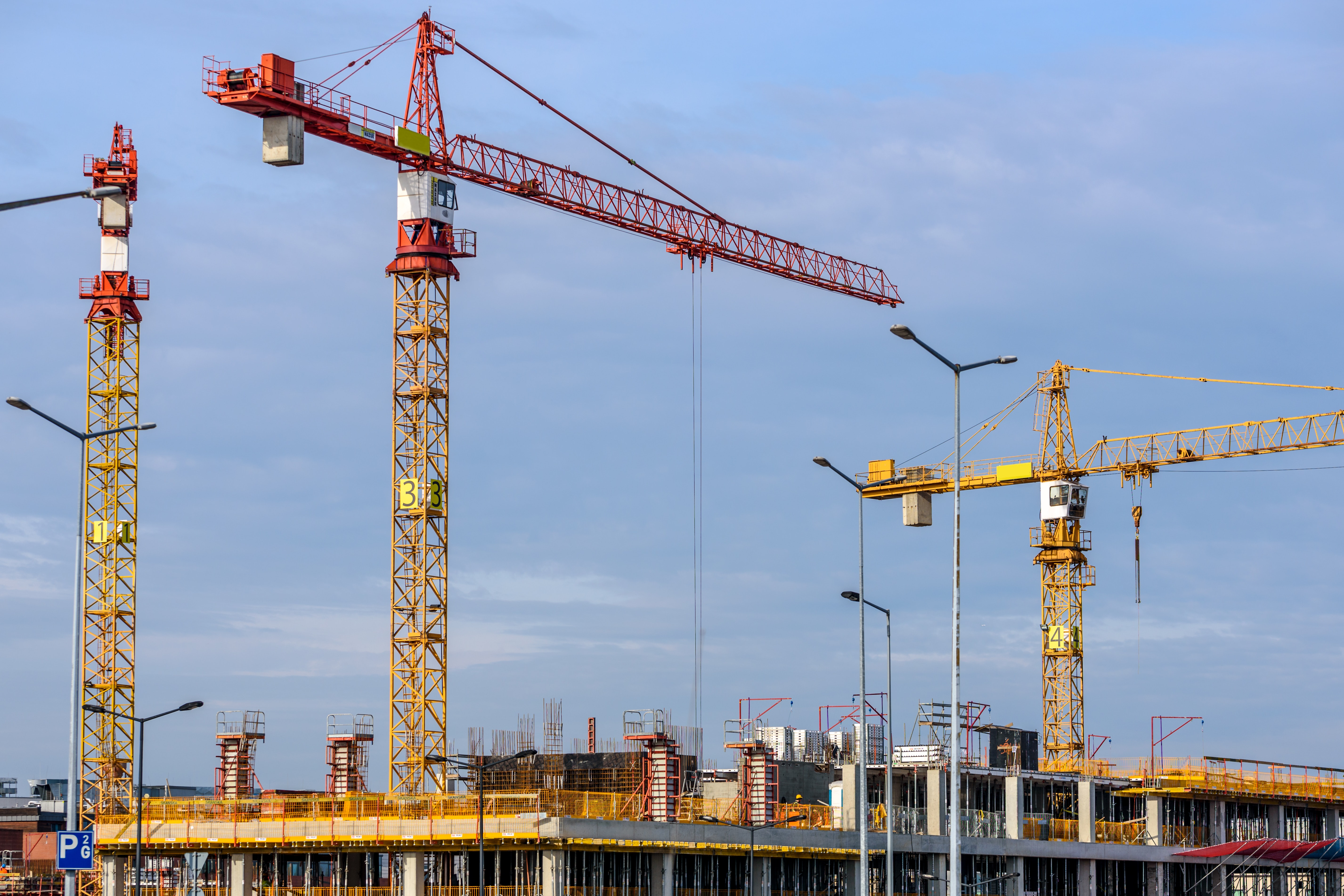 construction site bidding