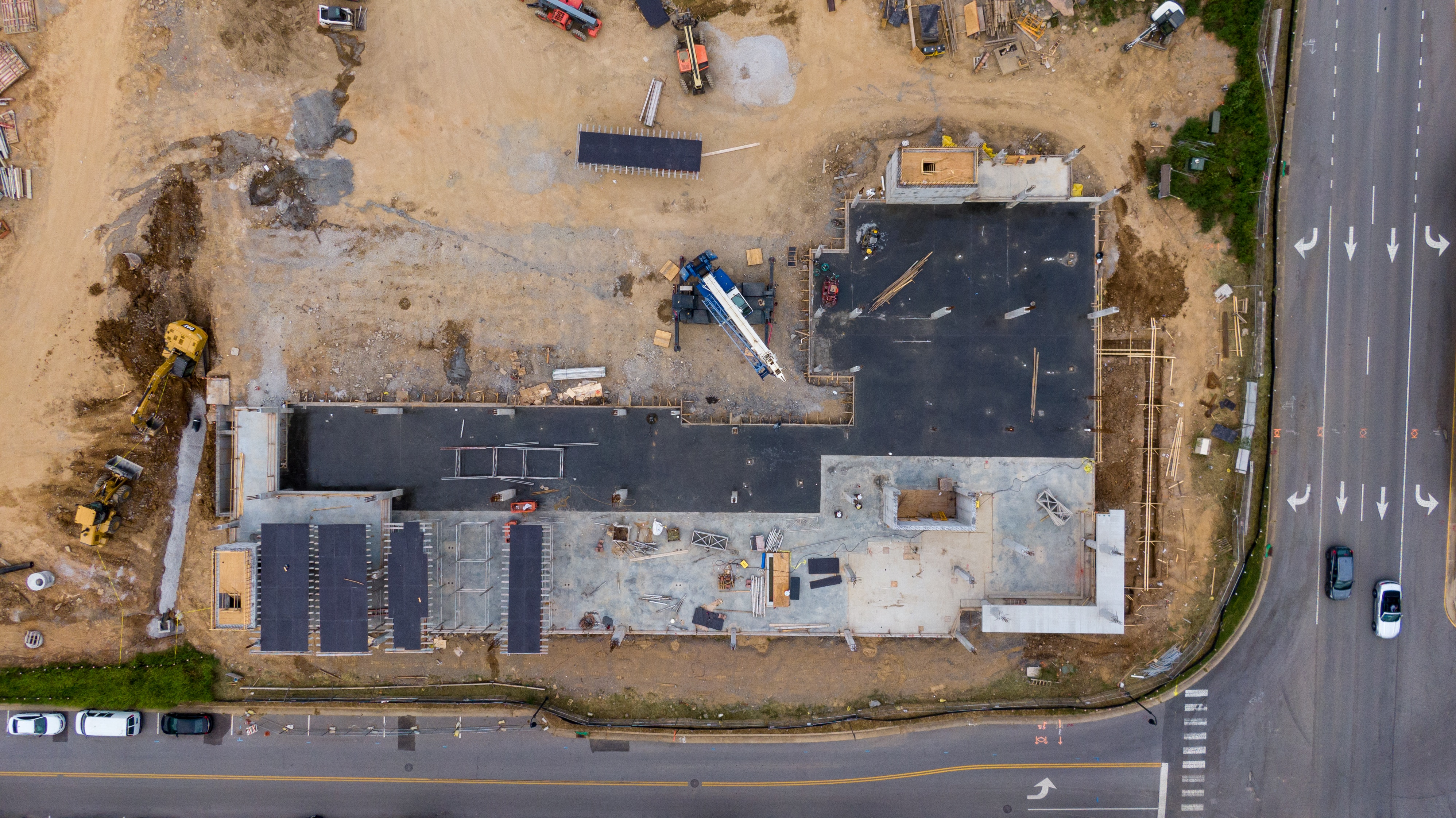 satellite imagery construction