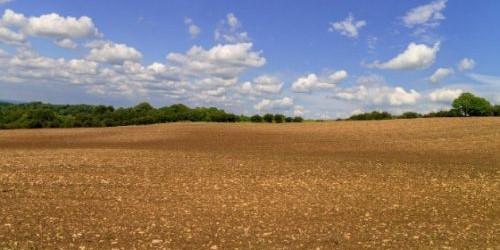 soil testing field